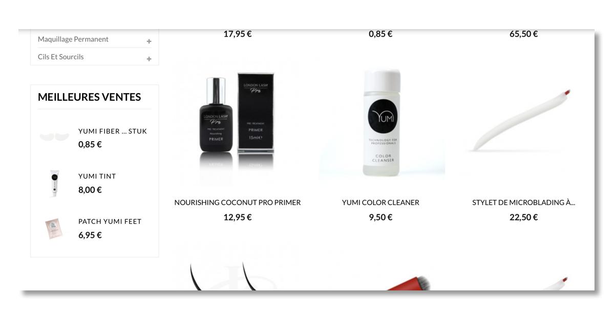 Projet site web Makeup4you.com