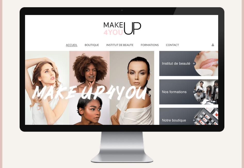 site ecommerce makeup4you