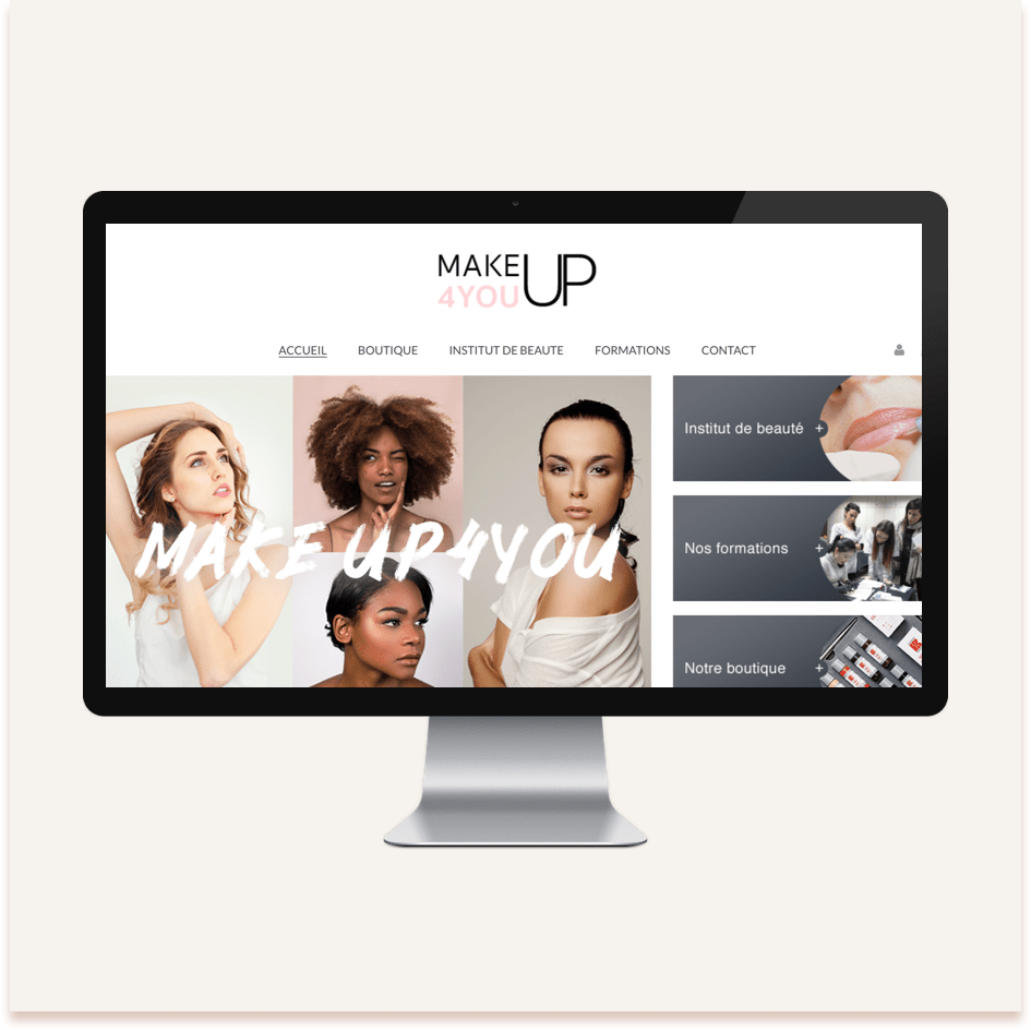 site ecommerce makeup4you