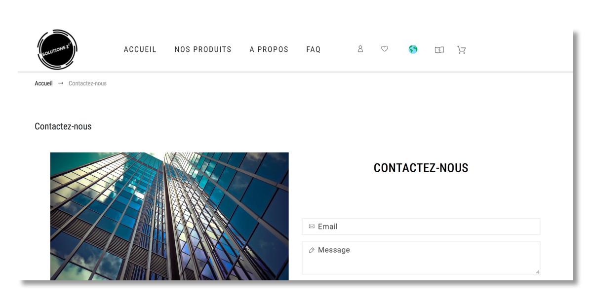 eStrolla - SolutionsZZZ.com projet site web